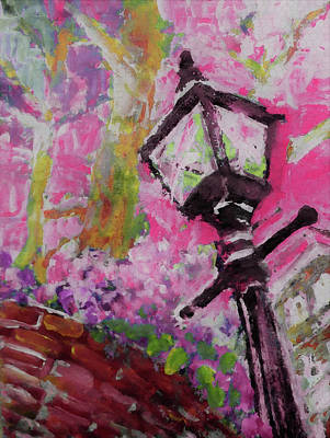 Painting - Ready For Pink Evenings by Lisa Kaiser