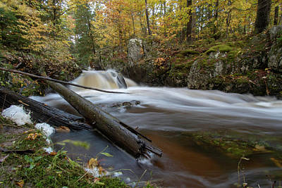 Photograph - Reaney Falls 10121801 by Rick Veldman