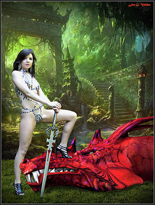 Photograph - Rebel Dragon Slayer by Jon Volden