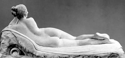 Sculpture - Reclining Naiad by Antonio Canova