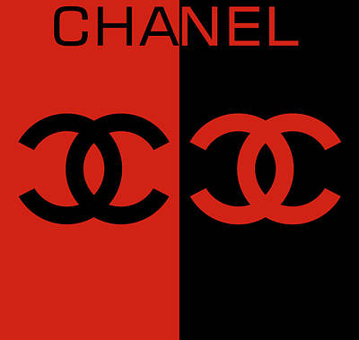 Achieving - Red And Black Chanel by Dan Sproul