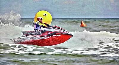 Photograph - Red And Yellow At Aqua Cross by Alice Gipson