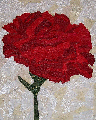 Red Carnation Art Print