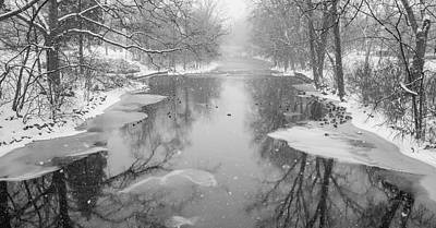 Photograph - Red Cedar River In Winter  by John McGraw
