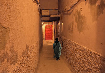 Photograph - Red Door In Marrakech by Jessica Levant