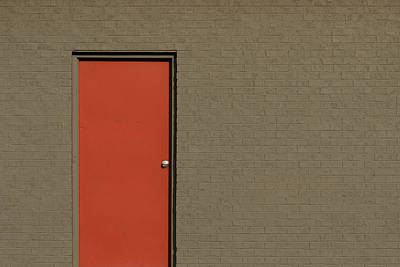 Photograph - Red Door by Stuart Allen