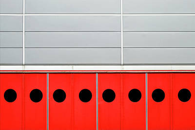 Photograph - Red Doors by Stuart Allen