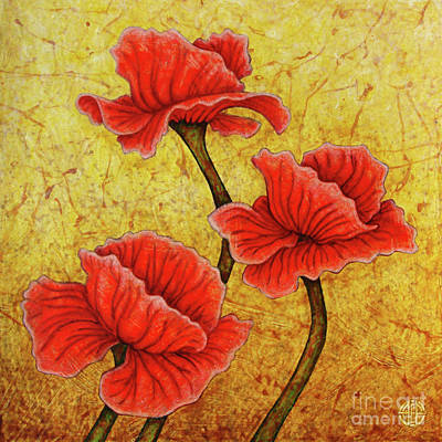 Painting - Red Enchantment by Amy E Fraser