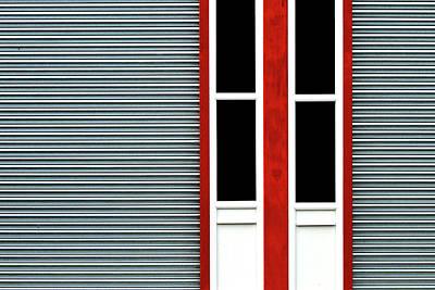 Photograph - Red Frame 3 by Stuart Allen