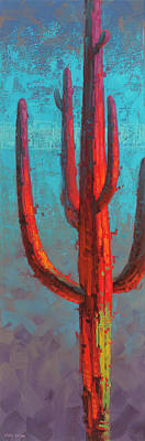 Impressionist Landscapes - Red Guardian 1 by Cody DeLong