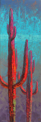 Curated Beach Towels - Red Guardians 2 by Cody DeLong