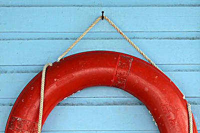 Photograph - Red Life Saver by Tatiana Travelways