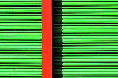 Photograph - Red On Green by Stuart Allen