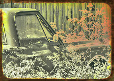 Photograph - Red Pickup by JAMART Photography