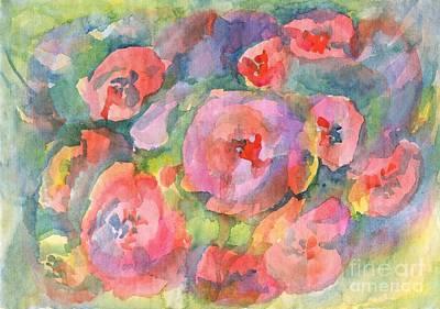 Painting - Red Poppies by Irina Dobrotsvet