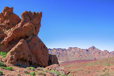 Photograph - Red Rocks At The Edge Of Caldera Las Canadas by Sun Travels