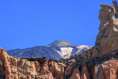 Photograph - Red Rocks Hiding Mount Teide by Sun Travels