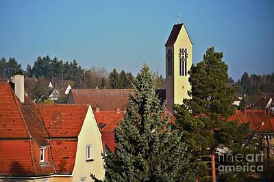 Photograph - Red Roofs In Donaueschingen, Germany 2 by Tatiana Travelways