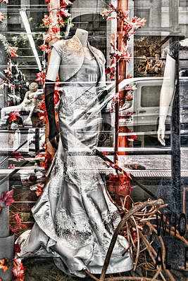 Photograph - Red Silver by Sharon Popek