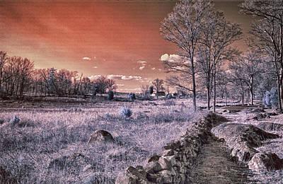 Red Sky At Night Art Print