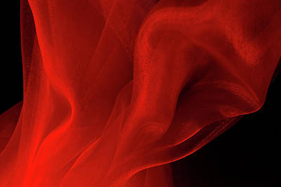 Photograph - Red Smoke by Jcarroll-images