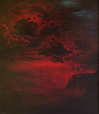 Painting - Red Storm by Tommy Midyette