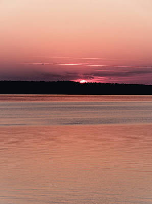 Photograph - Red Sunset 2 by Andrea Anderegg