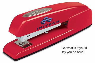 Photograph - Red Swingline Stapler by Pat Cook