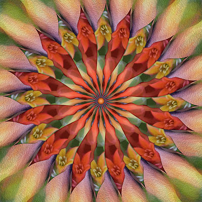 Red Velvet Quillineum Art Print