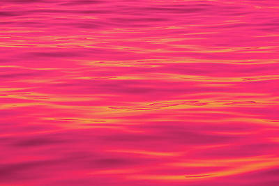 Royalty-Free and Rights-Managed Images - Red Water Abstract 6789 by Brian Knott Photography