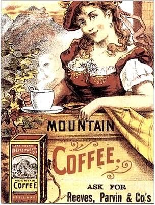 Digital Art - Reeves Parvin Coffee by John Lyes