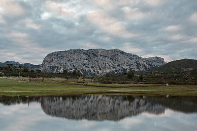 Photograph - Reflected Mountain by Daniele Fanni
