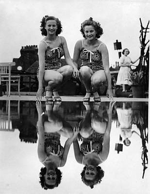 Reflection Photograph - Reflected Twins by Fox Photos