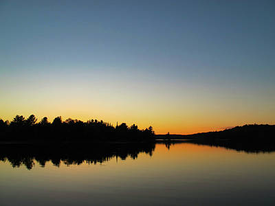 Photograph - Reflecting at sunset by Exploration Project