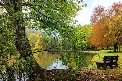 Photograph - Reflecting At The Lake by Debra and Dave Vanderlaan