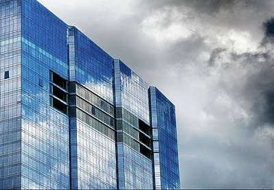 Photograph - Reflecting Skyscraper by Dee Browning