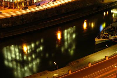Jonny Jelinek Royalty-Free and Rights-Managed Images - Reflecting The Night In Vienna by Jonny Jelinek