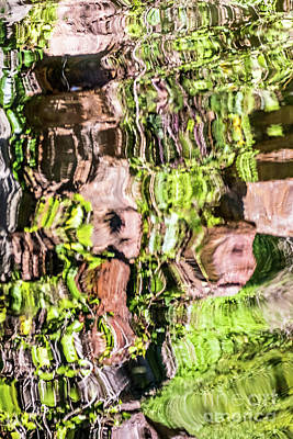 Photograph - Reflection Abstract Two by Kate Brown