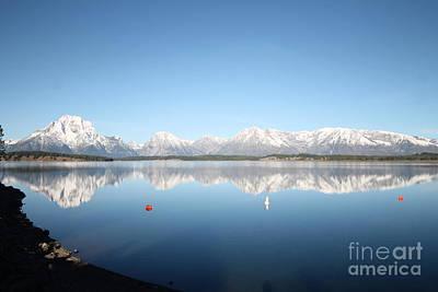 Wall Art - Photograph - reflection  Grand Tetons by Don Small Jr