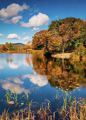 Photograph - Reflection In Little Lond Pond by Michael Blanchette