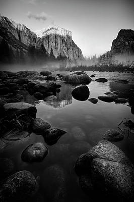 Outerspace Patenets Royalty Free Images - Reflection in Yosemite II Royalty-Free Image by Jon Glaser