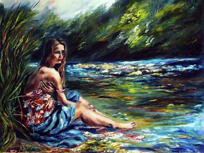 Painting - Reflection by Ruslana Levandovska