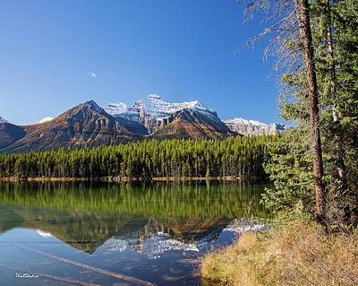 Photograph - Reflections At Herbert Lake by Tim Kathka
