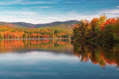 Photograph - Reflections At Little Long Pond by Kim Carpentier
