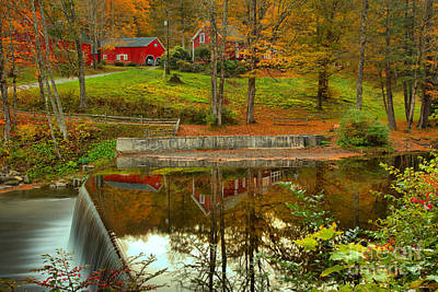 Photograph - Reflections At The Green River Crib Dam by Adam Jewell