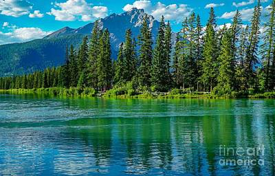 Photograph - Reflections Of Banff by Susan Rydberg