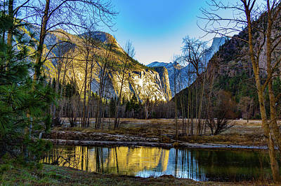 Wall Art - Photograph - Reflections Of Half Dome by Roslyn Wilkins
