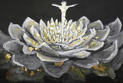 Painting - Reflections Of Holiness by Anna Barnhart