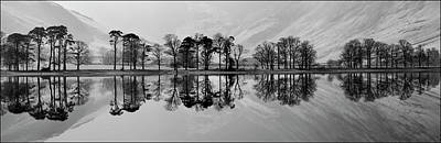 Photograph - Reflections On Buttermere by Paul Whiting