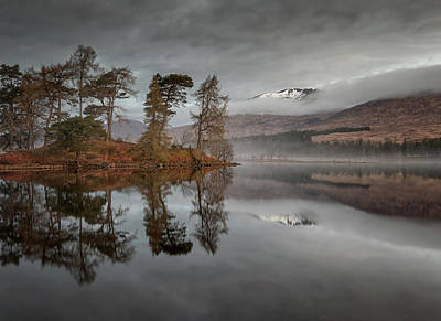 Photograph - Reflections On Loch Tulla by Victoria Redpath